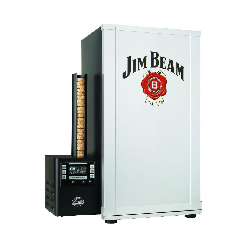 Jim Beam 4-Rack Insulated Digital Smoker