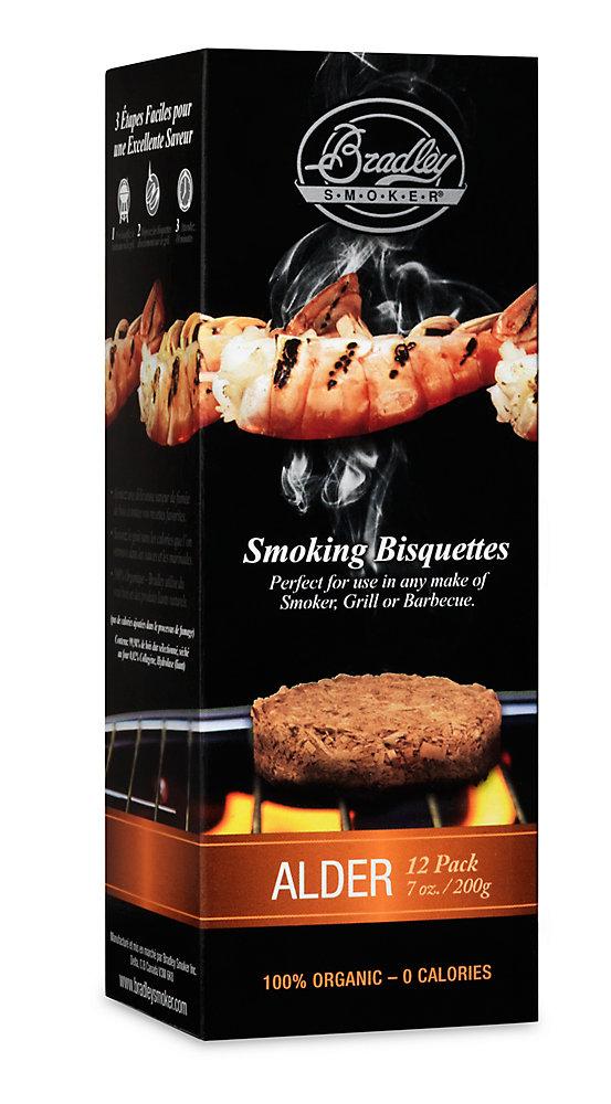 Alder Smoking Bisquettes (12-Pack)