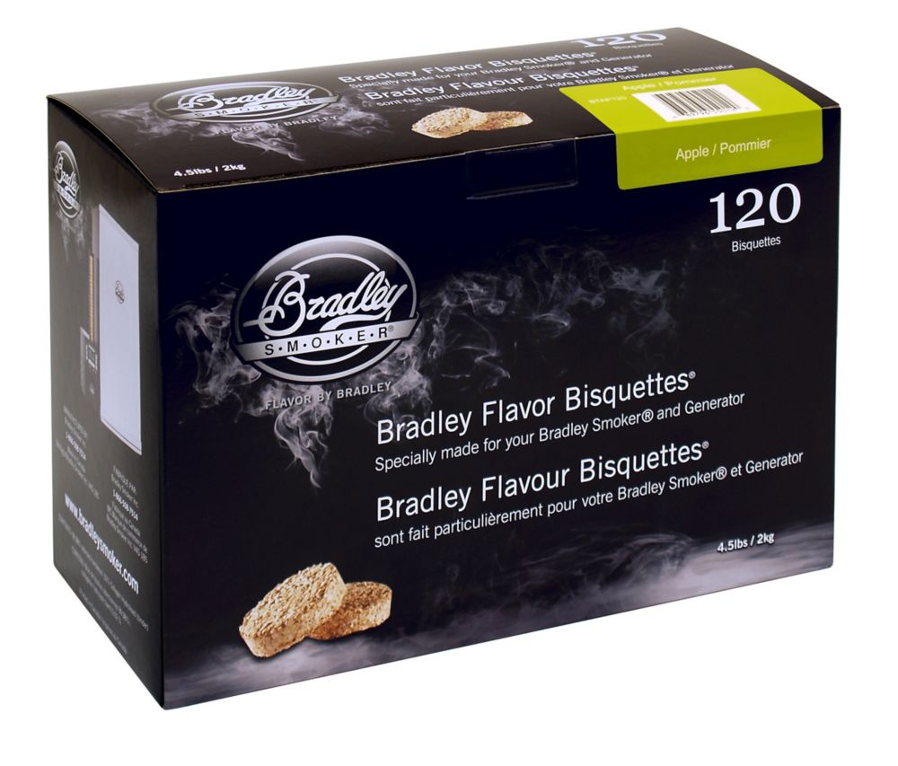 Apple Smoking Bisquettes (120 Pack)