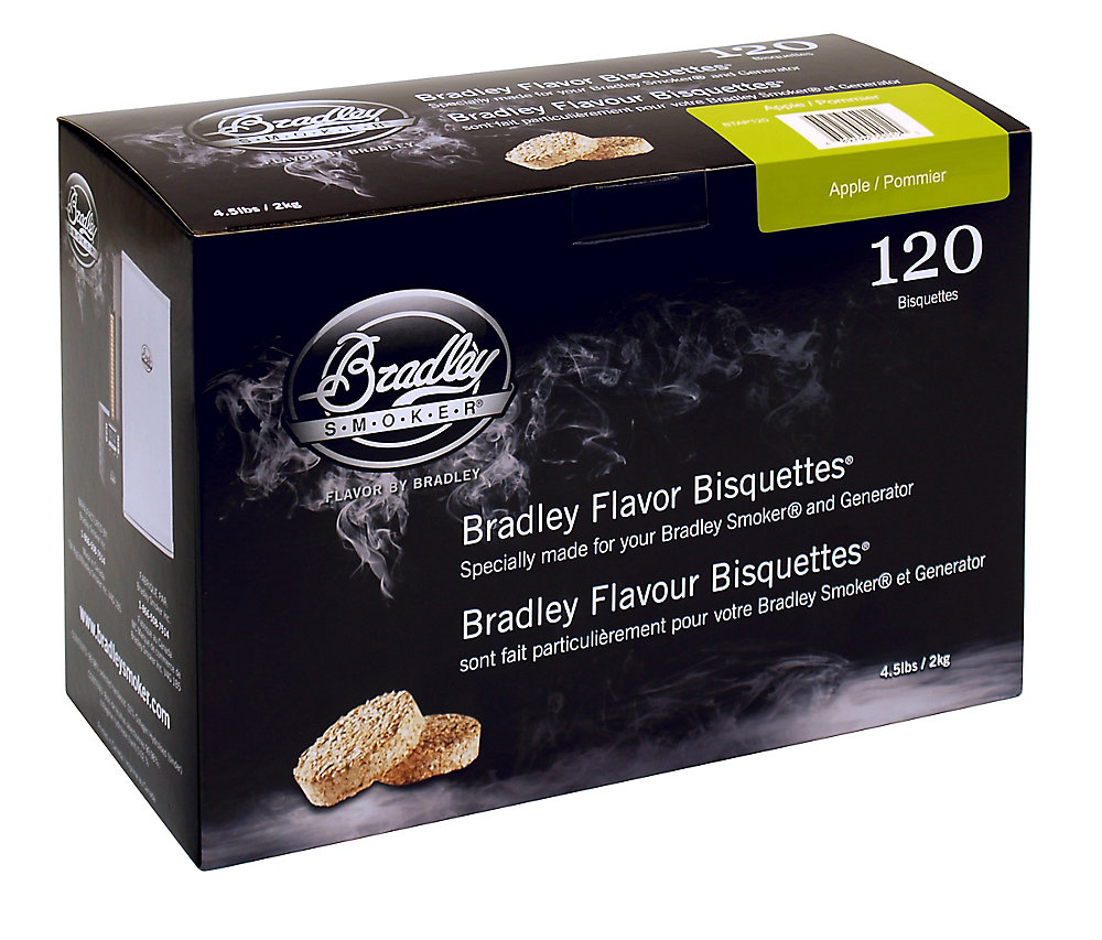 Apple Smoking Bisquettes (120-Pack)
