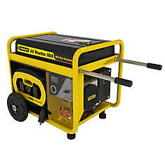 5000W All Weather Generator with Removeable Control Panel and 24hr Run Time