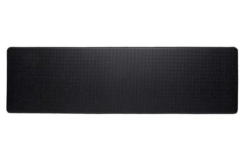 Nantucket Series Black 1 ft. 8-inch x 6 ft.  Rectangular Runner