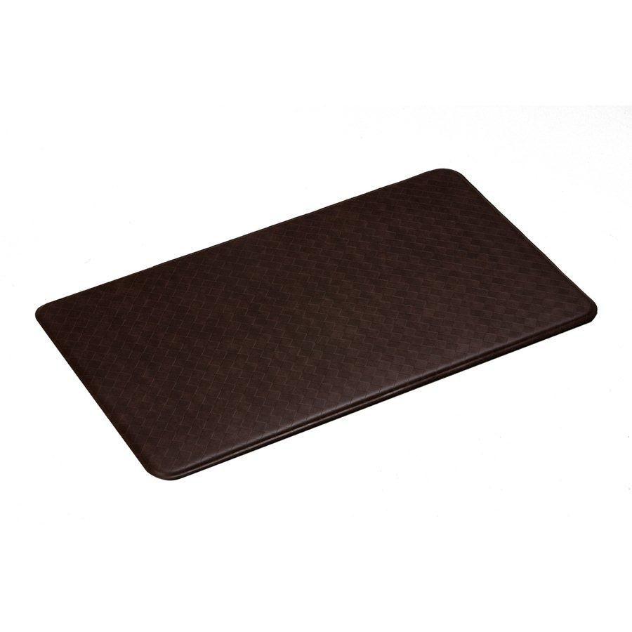 aire tapis de série nantucket 26x48 pouces, cannelle
