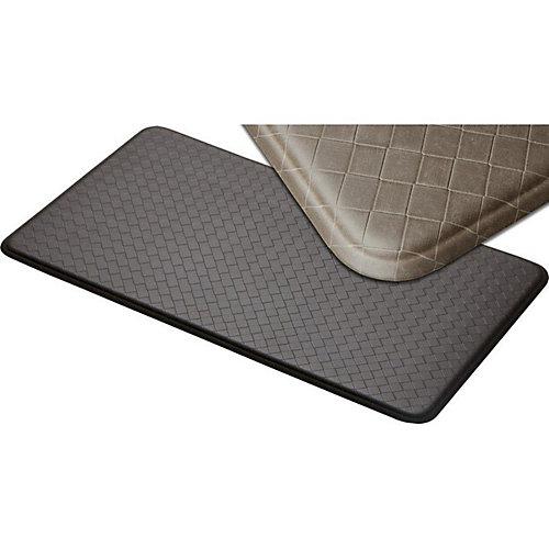 aire tapis de série nantucket 26x48 pouces, gris