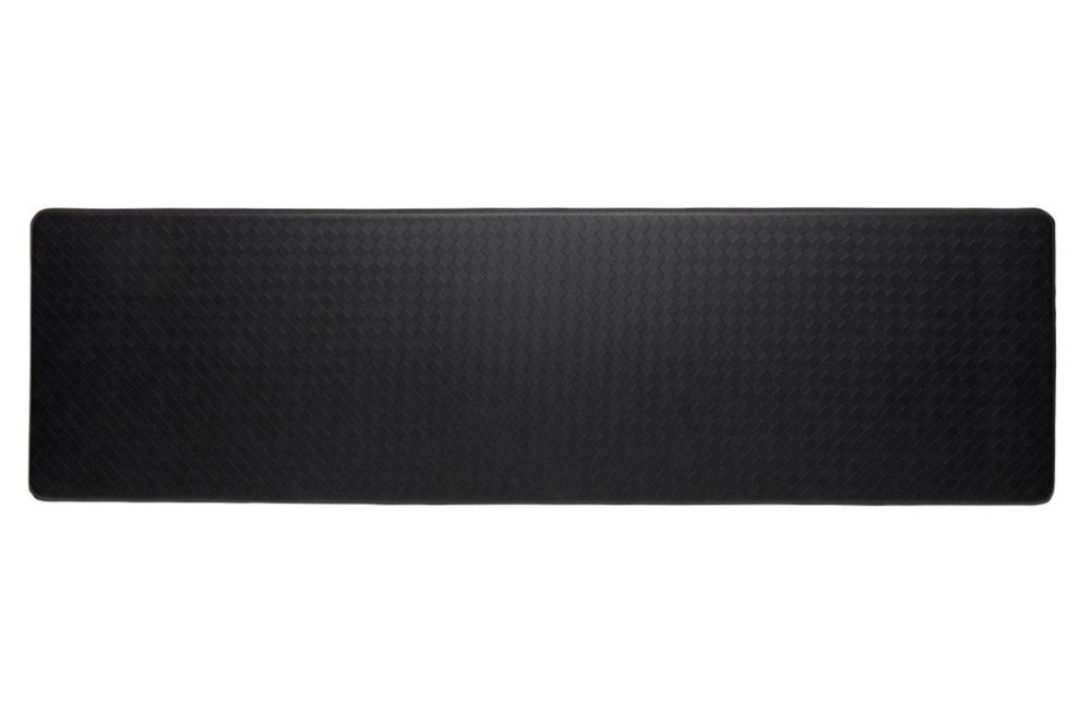 tapis de série nantucket longue 26x72 pouces, noir