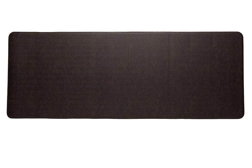Cobblestone Brown 1 ft. 8-inch x 6 ft.  Rectangular Runner
