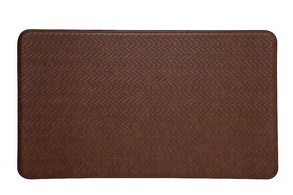 Cobblestone Series Island Area 26 Inches x 48 Inches Toffee Brown