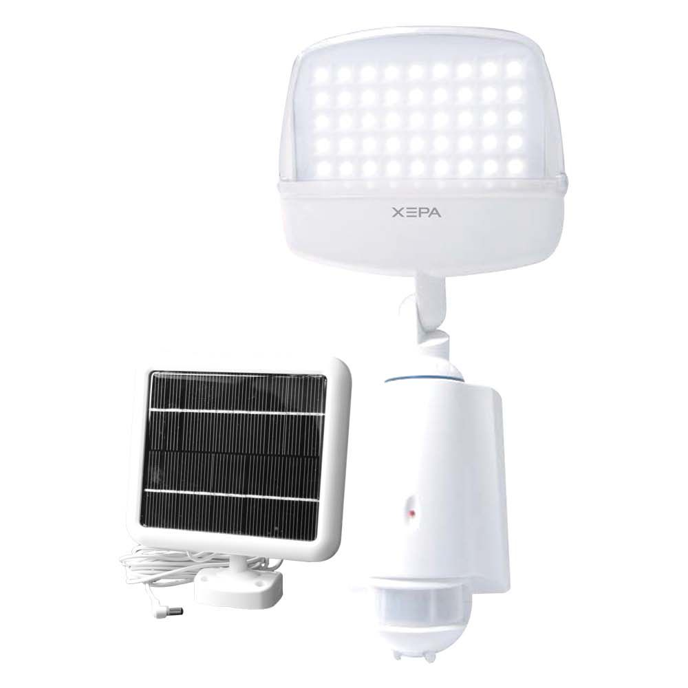 Digital Solar-Powered LED Light with Motion Detection