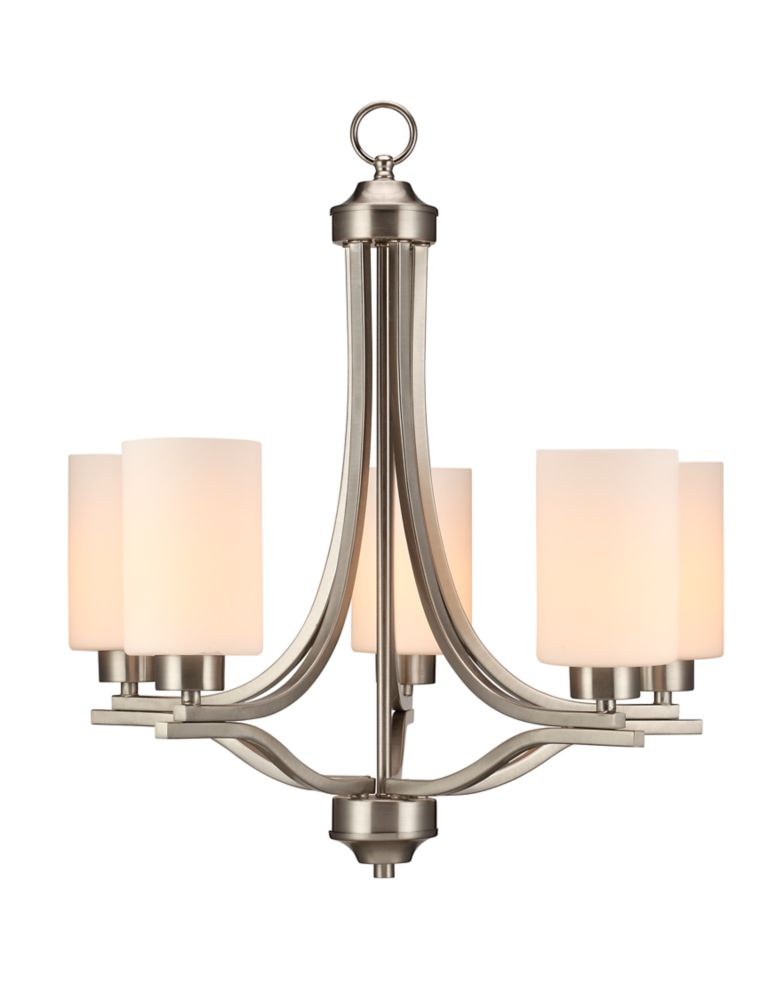 Commercial Electric 5 Light Chandelier