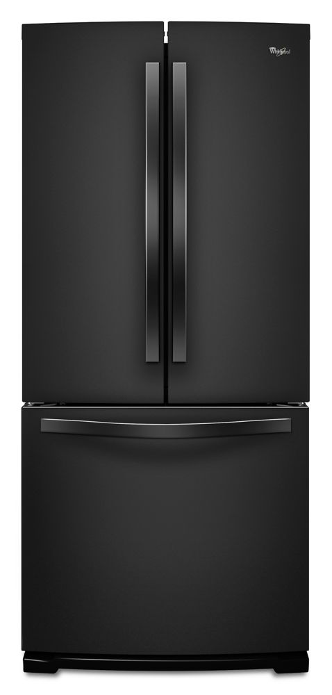 19.7 cu. ft. French Door Refrigerator in Black