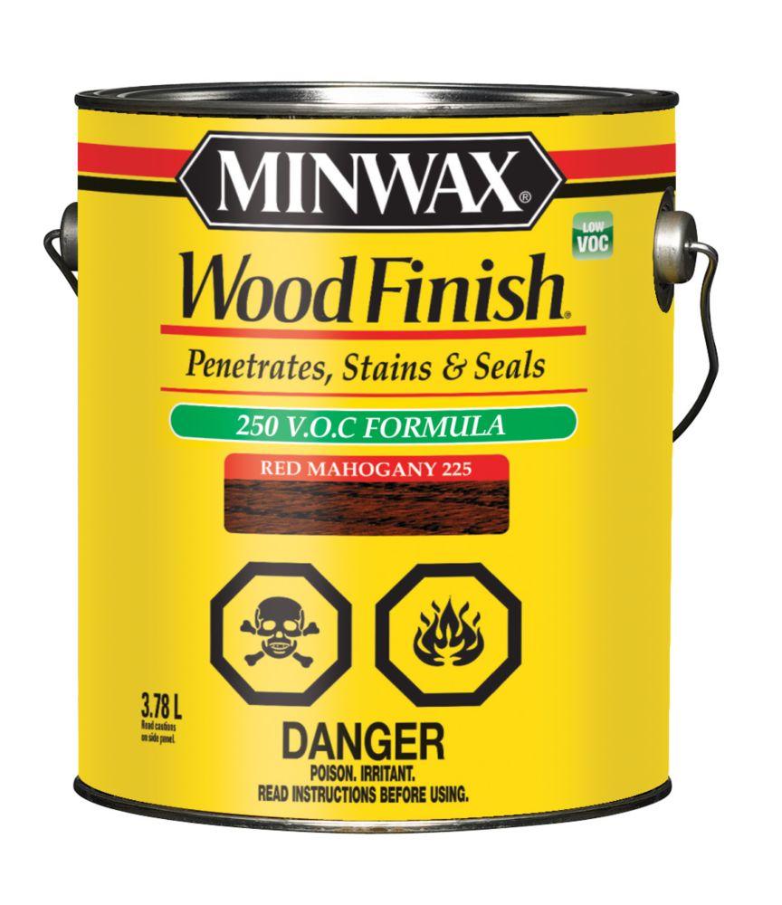 Teinture à bois - Faible en COV 3.78L - Acajou rouge 225