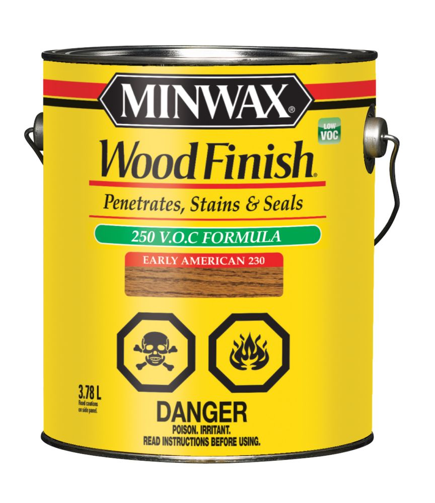 Wood Finish - LOW VOC 3.78L, Early American