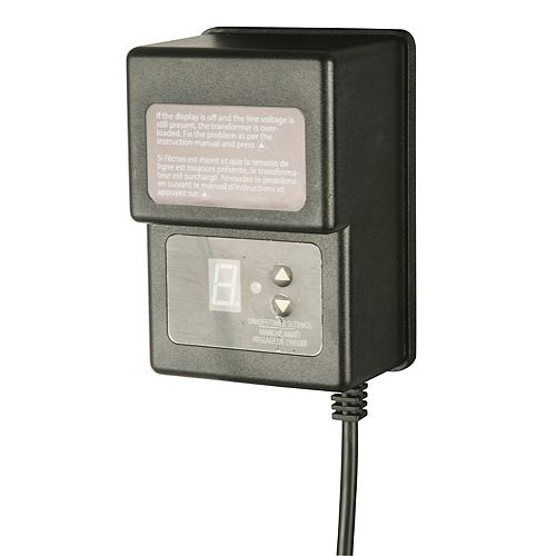 Hampton Bay 12Volt 45 Watt Transformer with Digital Timer