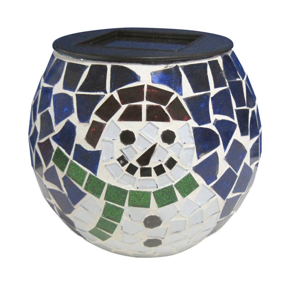Solar Mosaic Novelty Jar