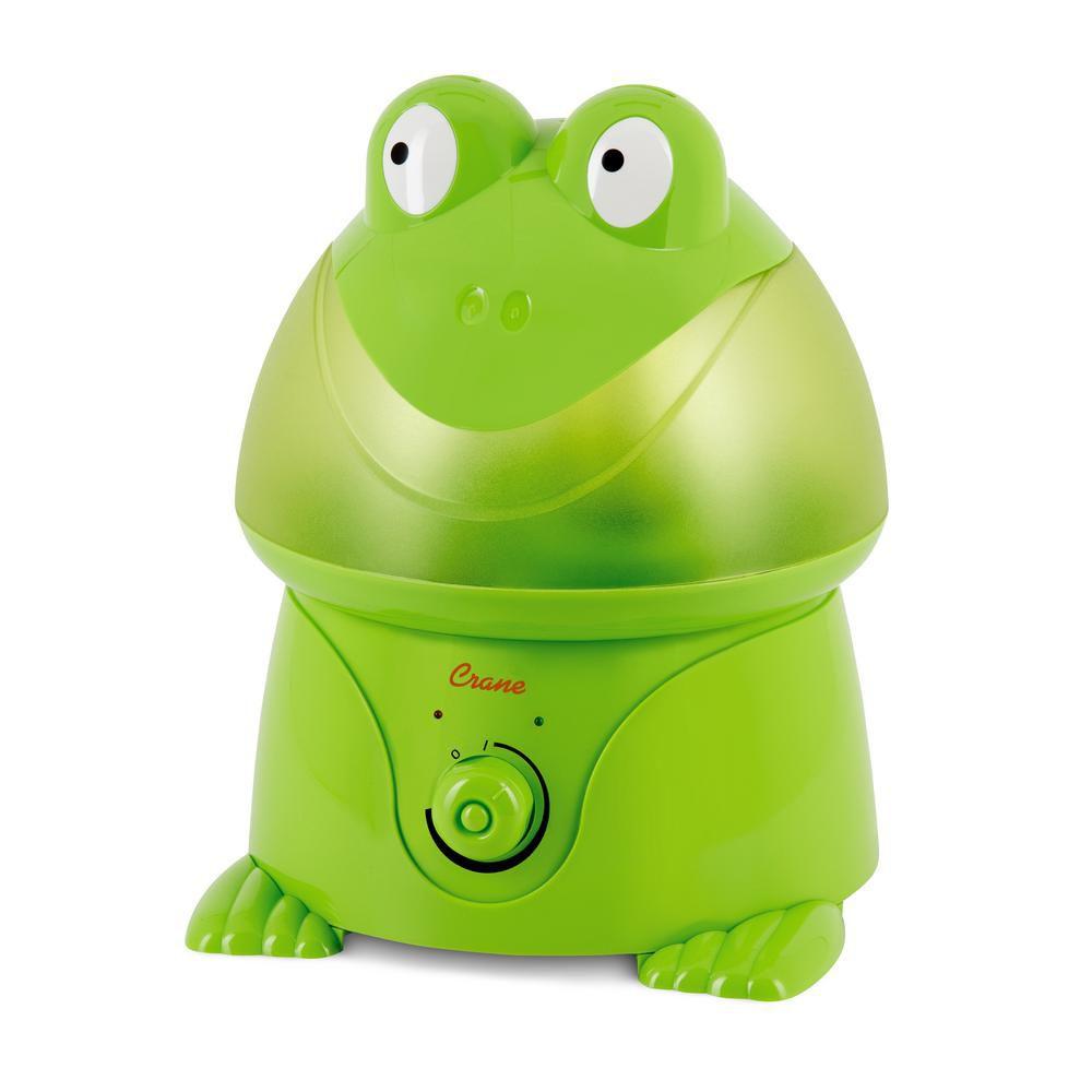 Crane Ultrasonic Cool Mist Humidifier, Frog
