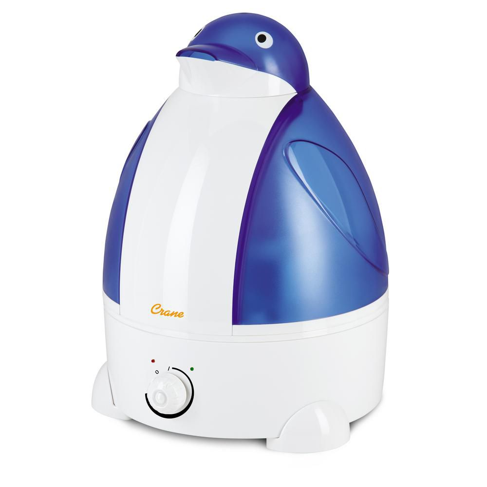 Crane Ultrasonic Cool Mist Humidifier, Penguin
