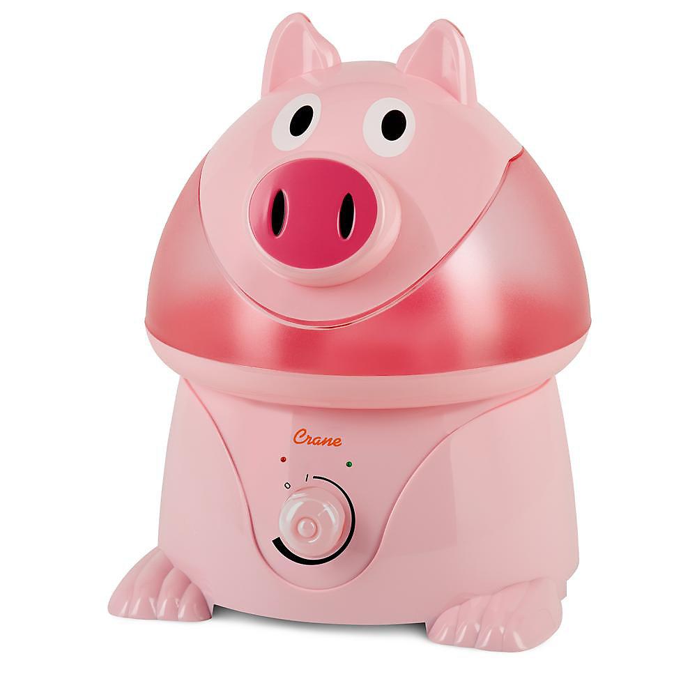 Ultrasonic Cool Mist Humidifier, Pig