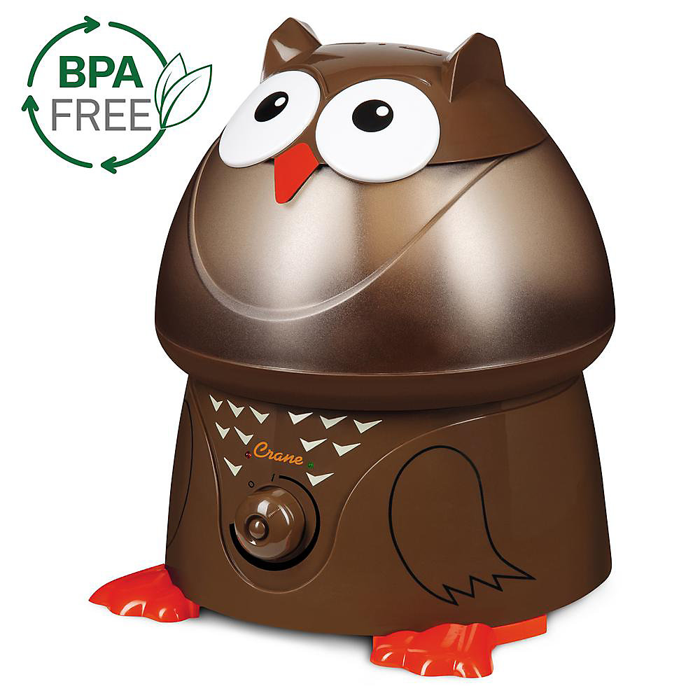 Ultrasonic Cool Mist Humidifier, Owl