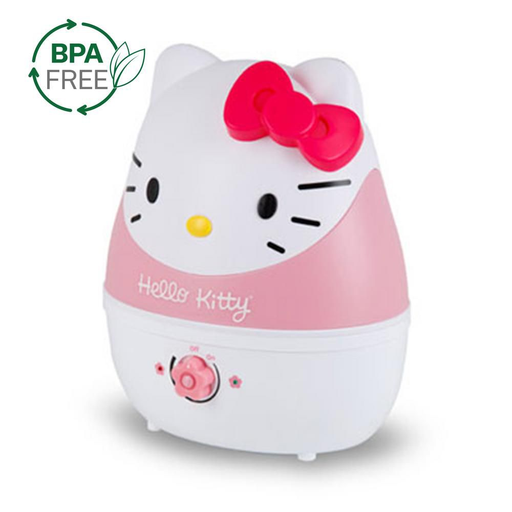 Crane Ultrasonic Cool Mist Humidifier, Hello Kitty