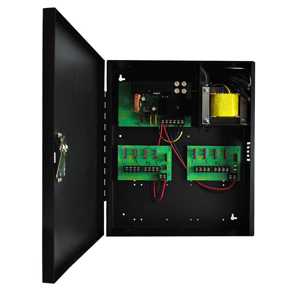 Elite 12 Volts DC Distribution to 8 outputs with a total of 10.0 Amps
