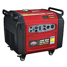 3500 Watt Peak Digital Inverter Generator - Electric Push Start and Parallel Capability