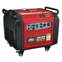 All Power America Génératrice à inverseur numérique d'une puissance de 3500 watts - Bouton de démarrage électrique et capacité parallèle