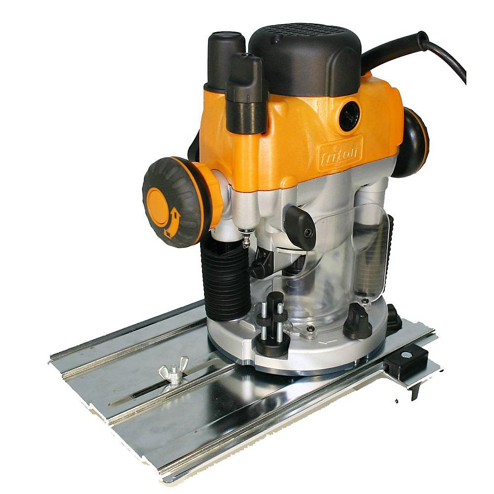 2HP Dual Mode Precision Plunge Router