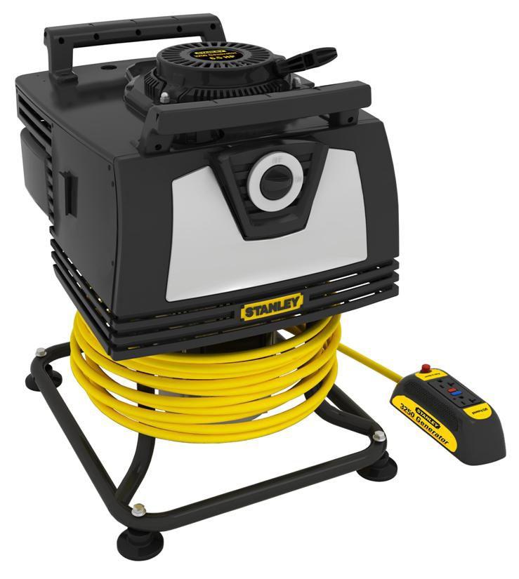 STANLEY  Génératrice portative 3250 watts avec panneau de commande détachable