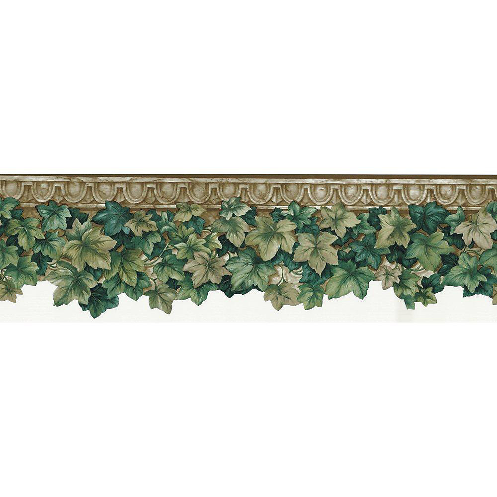 6.5 In. H Green Ivy Die-Cut Border