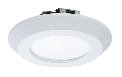 halo 4 inch white led recessed or surface disk light the home