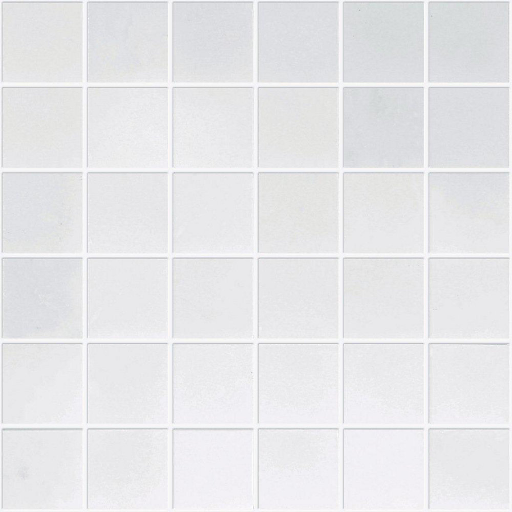 2-Inch x 2-Inch Polished Carrara Marble Mosaic Tile
