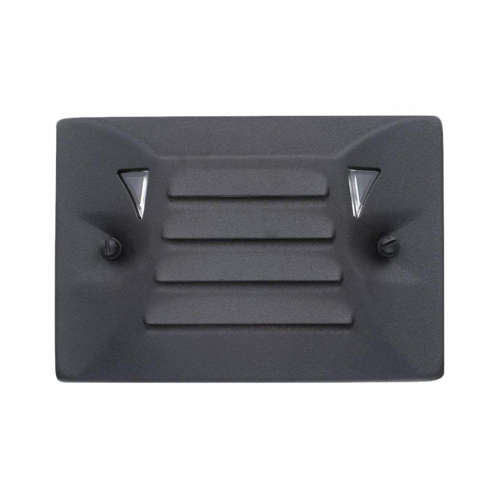 Lumières de terrasse à DEL basse tension - Fini noir