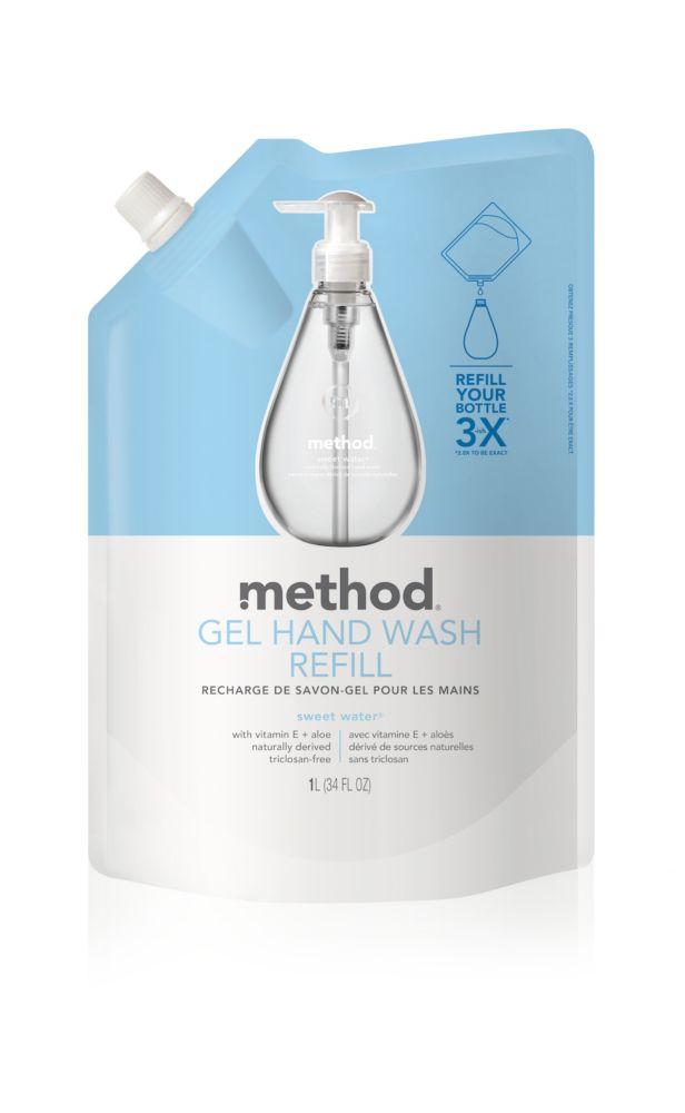 Gel Hand Wash Refill Sweet Water 1L