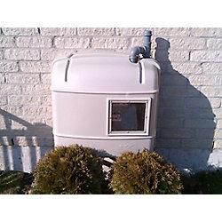 GasCov Retro Gas Meter Cover (2-Pack)