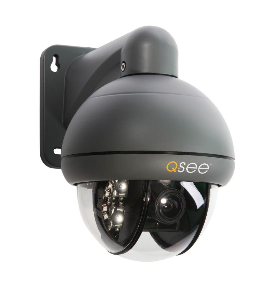 QD6531Z-K Pan Tilt Zoom 650 TVL Resolution Camera with 3x Optical Zoom