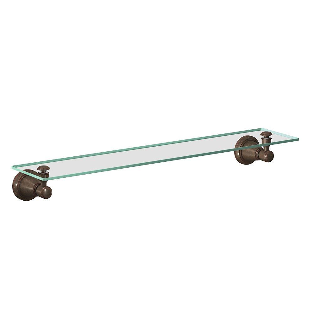 Bradshaw Glass Shelf - Oil Rubbed Bronze