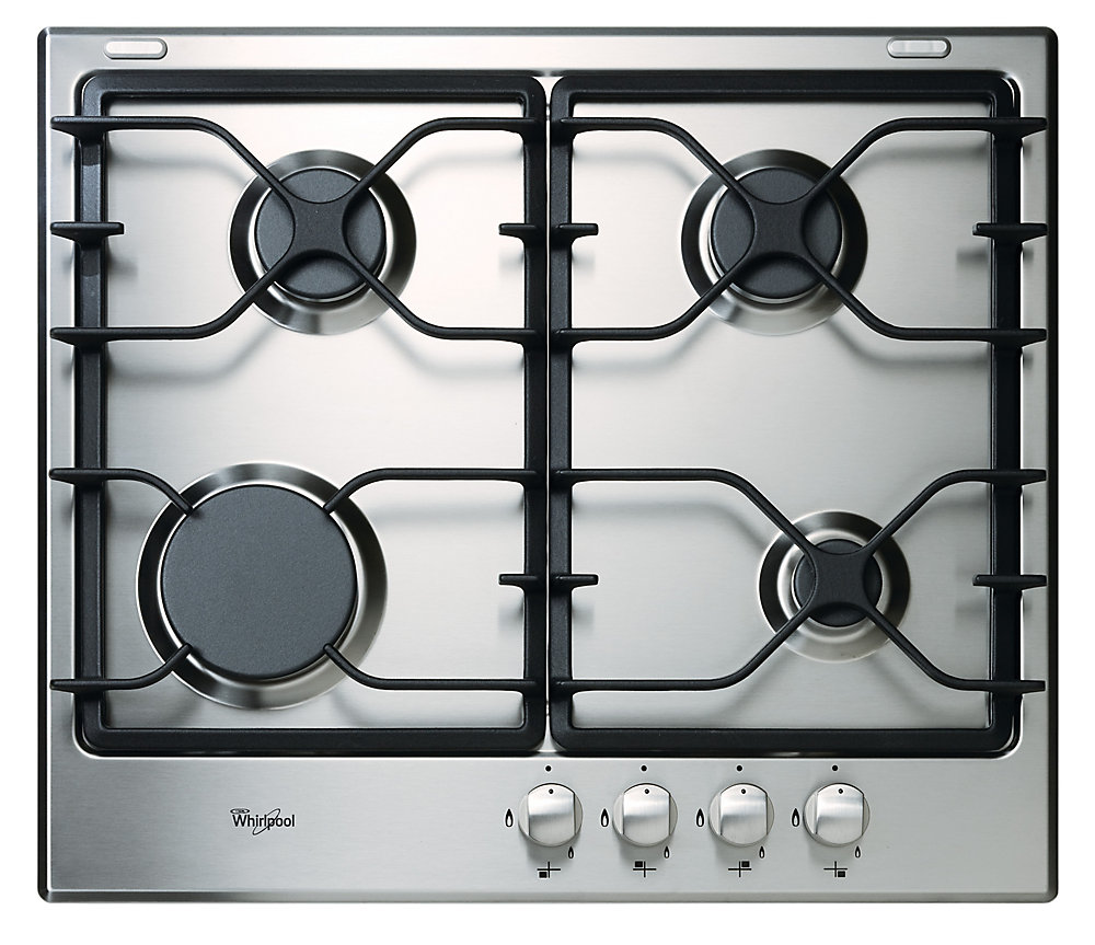 23.25-inch Gas Cooktop in Stainless Steel