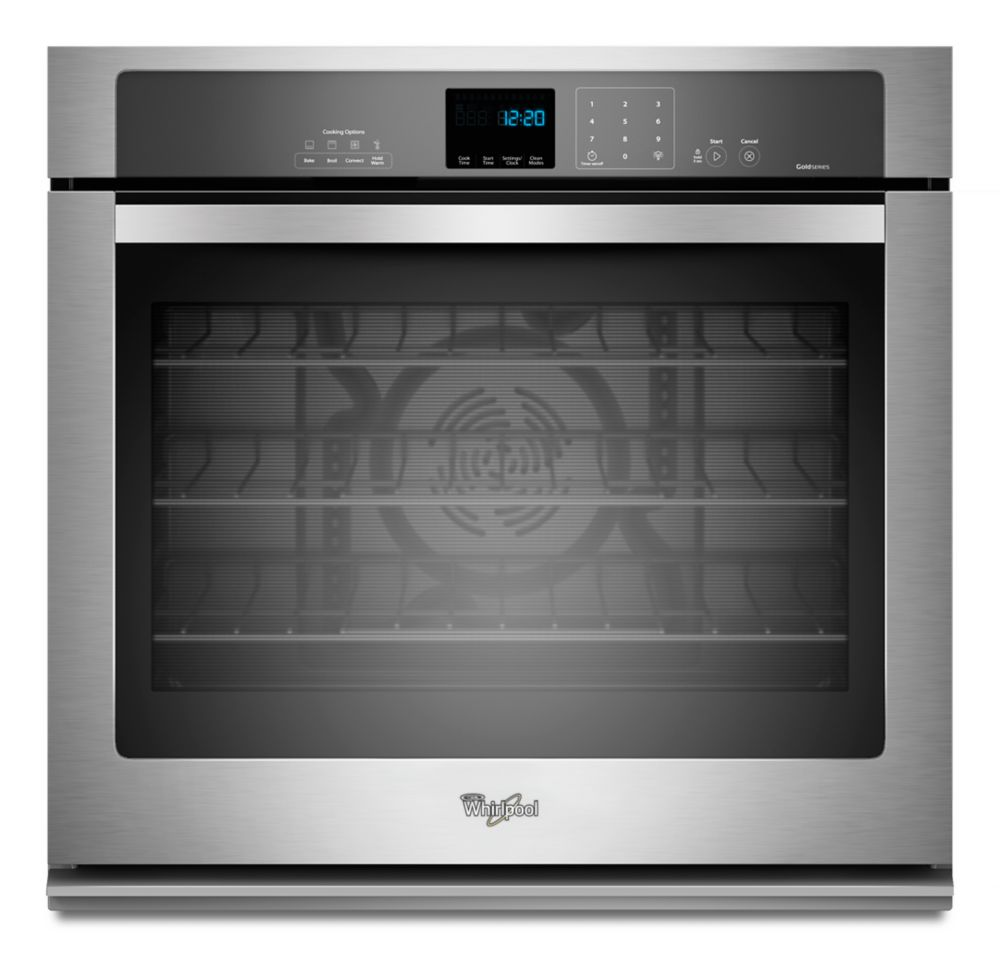 Gold<sup>®</sup> 5.0 cu. ft. Single Wall Oven with SteamClean Option in Stainless Steel