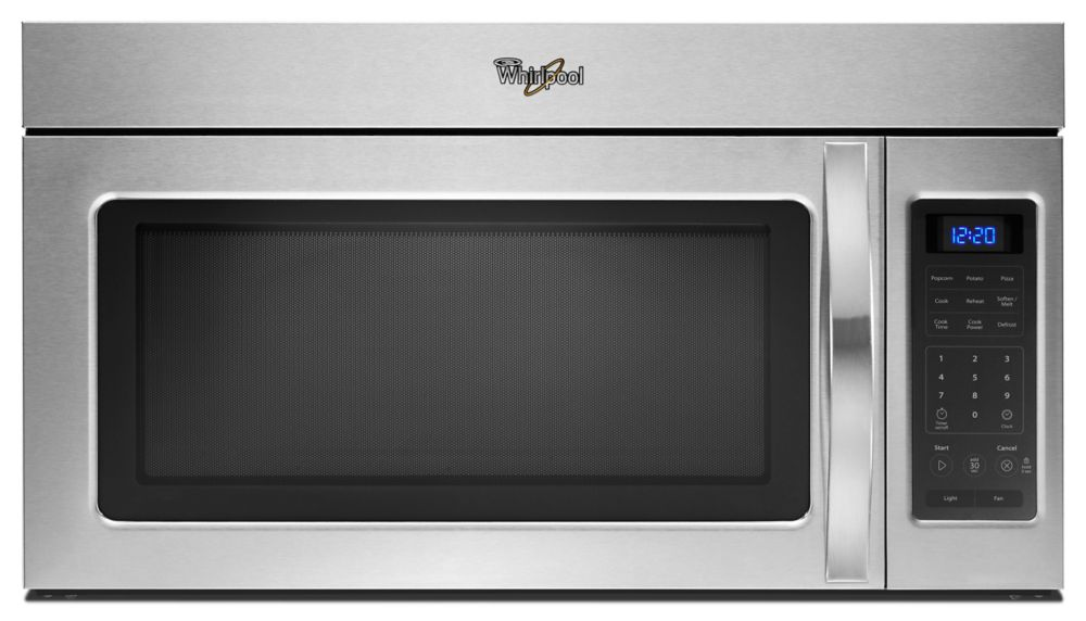 1.7 cu. ft. Microwave Hood Combination with Two-Speed Fan in Stainless Steel