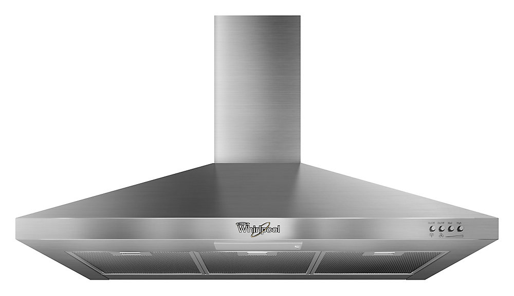 36-inch Gold Vented Canopy Wall-Mount Range Hood in Stainless Steel - ENERGY STAR®