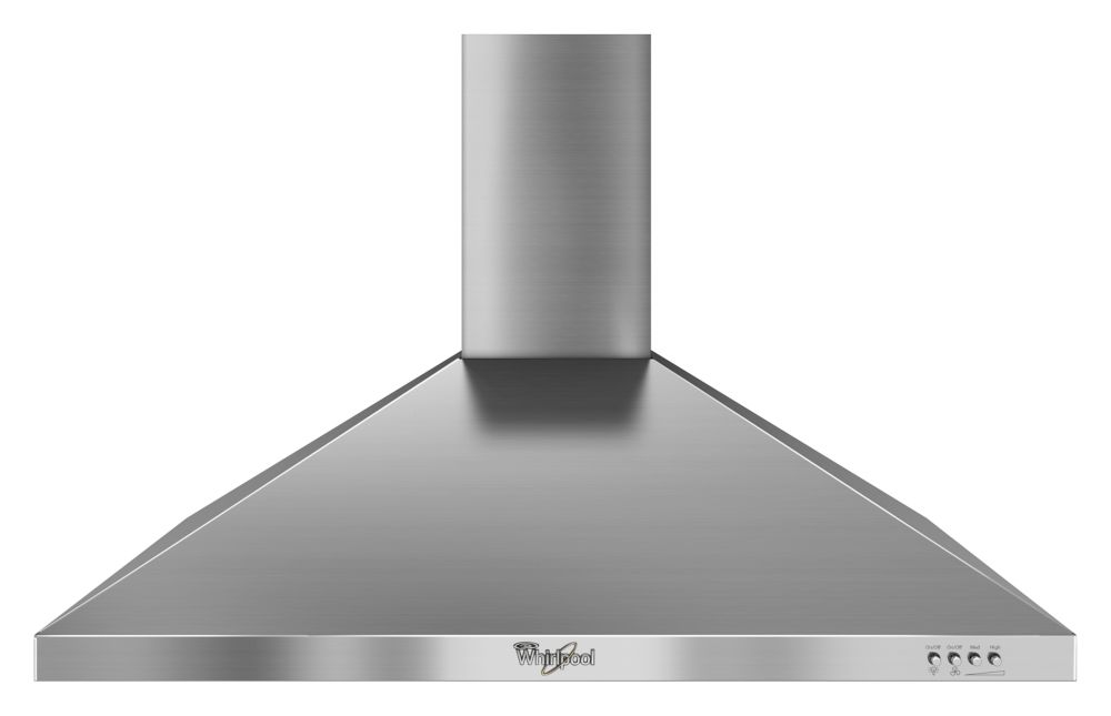 36-inch Gold<sup>®</sup> Vented Canopy Wall-Mount Range Hood in Stainless Steel