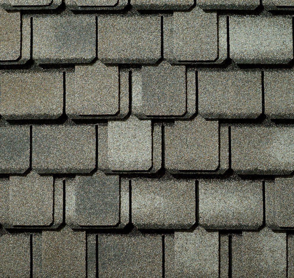 Camelot Lifetime Riverstone Gray Lifetime Designer Shingles