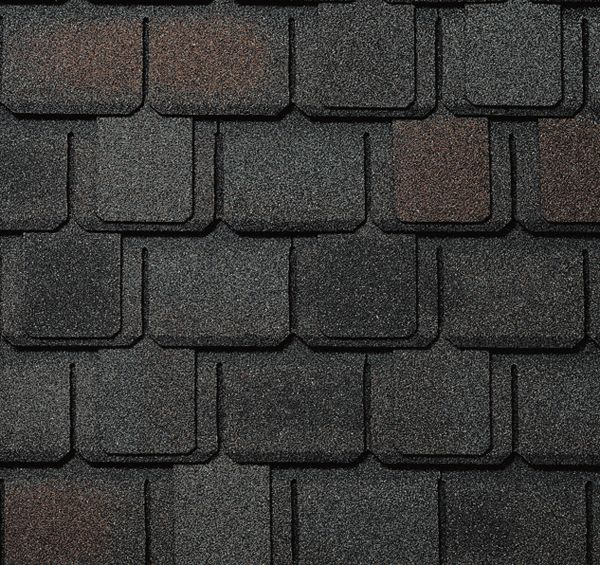 Camelot Lifetime Sheffield Black Lifetime Designer Shingles