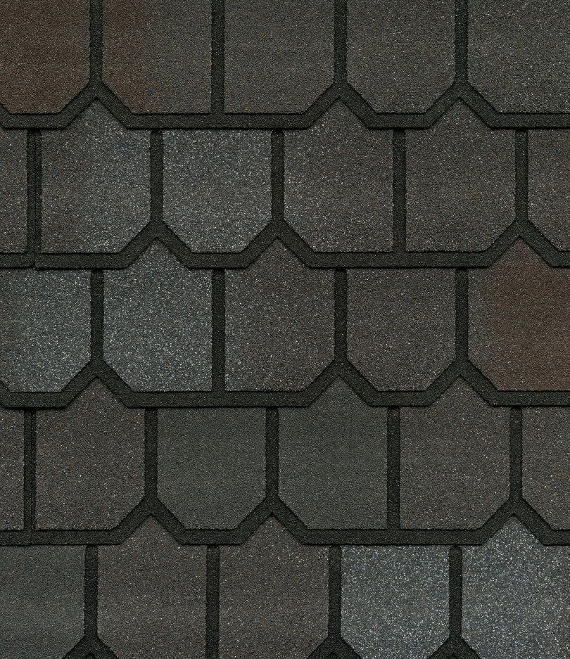 Country Mansion II Spiced Pewter Lifetime Designer Shingles