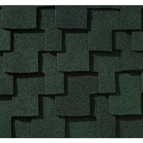 Grand Canyon® Moss Green Lifetime Designer Shingles (16.6 sq. ft. per bundle)
