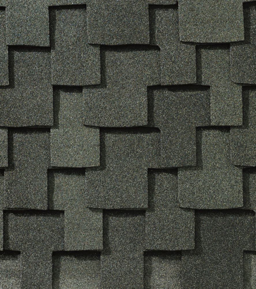 Grand Sequoia Slate Blend Lifetime Designer Shingles