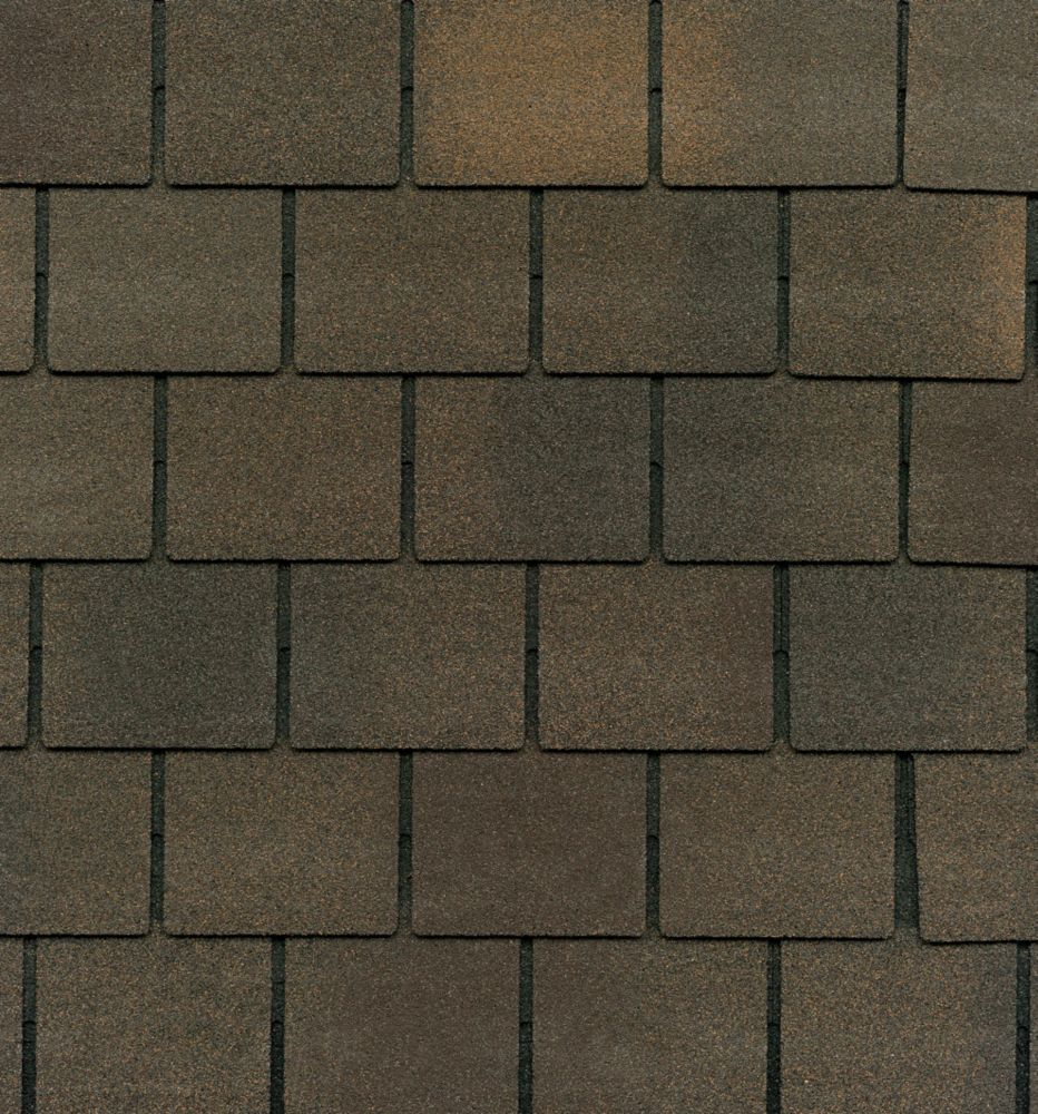 Grand Slate II Harvest Brown Lifetime Designer Shingles