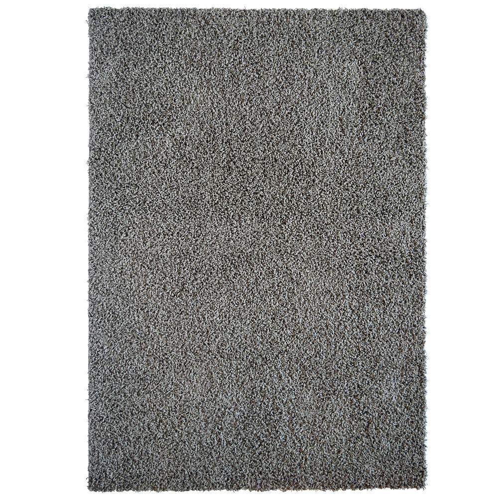 Charcoal Comfort Shag 8 Ft. x 10 Ft. Area Rug