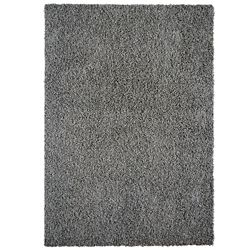 Lanart Rug Comfort Shag Grey 8 ft. x 10 ft. Indoor Shag Rectangular Area Rug