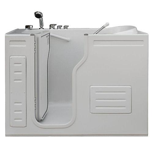 Lavish Walk-In Bathtub with Thermostatic Controls